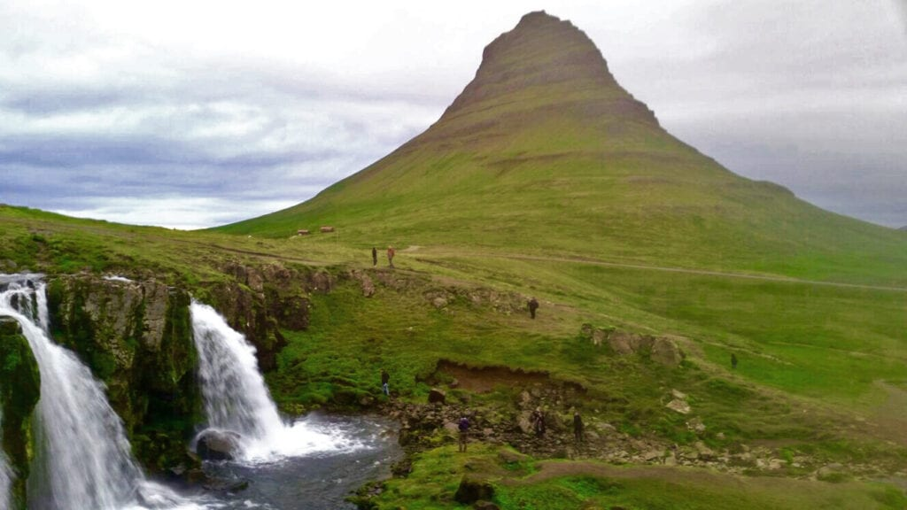 mount kirkjufell most photographed mountain iceland snaefellsness
