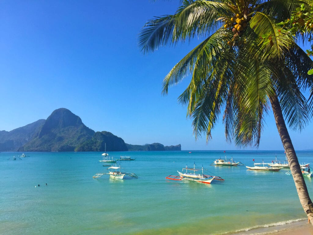 Beach view - El Nido - Palawan - Philippines