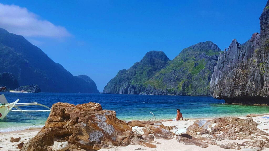Island Hopping - lunch spot - El Nido - Palawan - Philippines