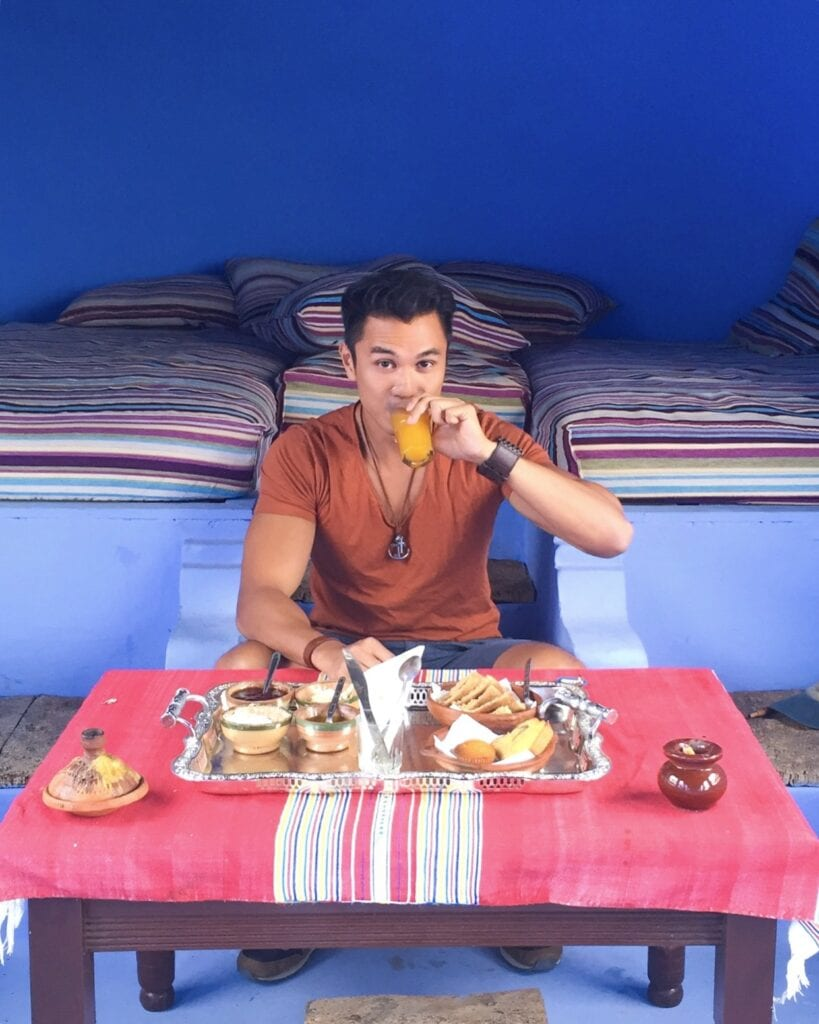 moroccan breakfast chefchaouen morocco
