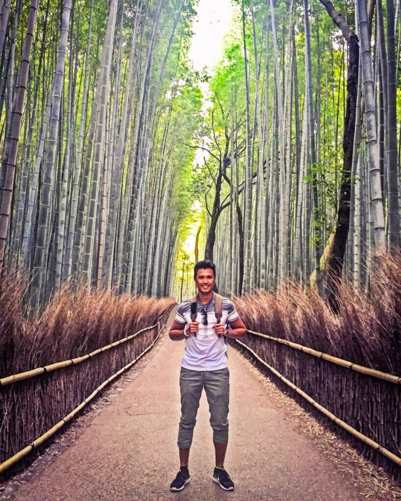 arashiyama bamboo forest japan