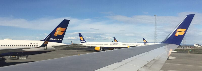 Icelandair Economy Class: Chicago to Reykjavik