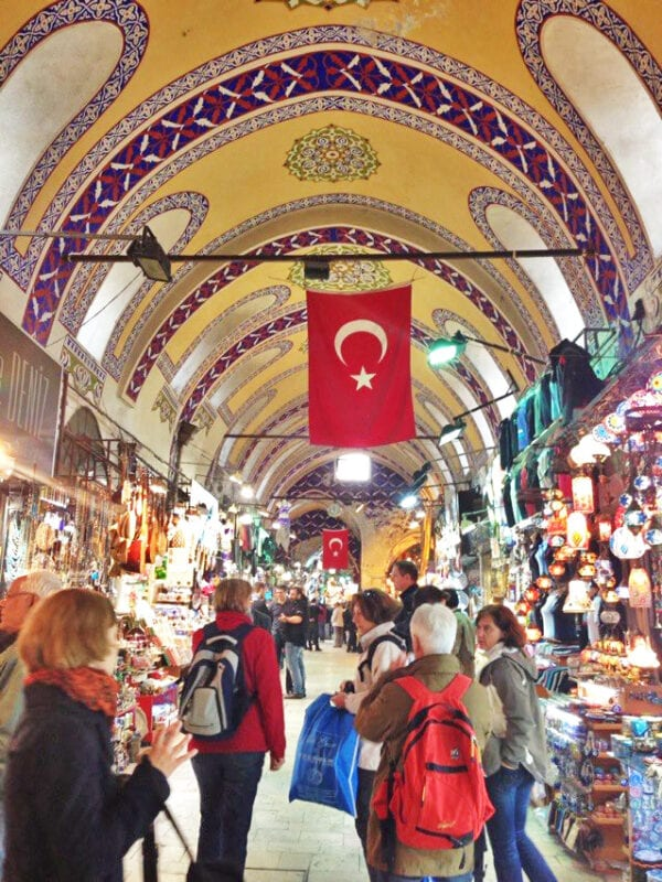 grand bazaar shopping istanbul turkey