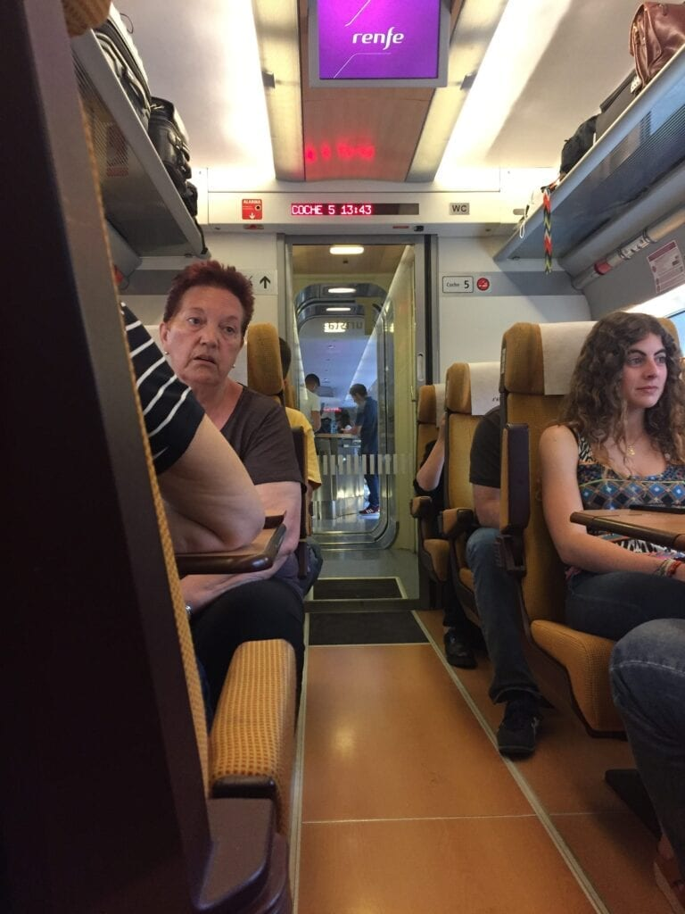 renfe - high speed train - madrid - spain