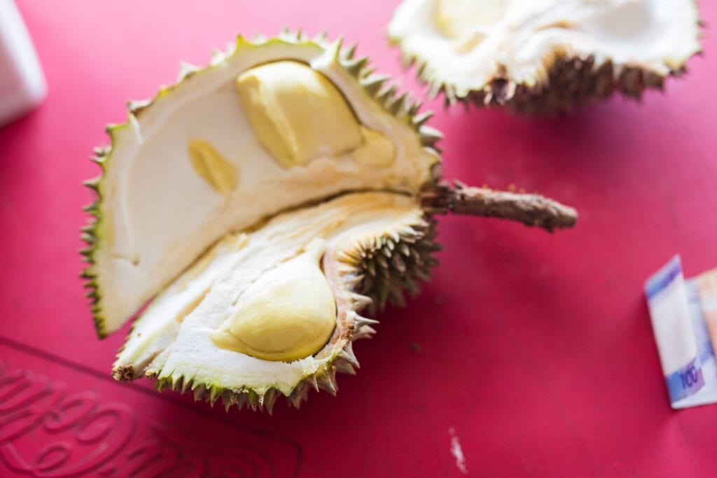 Durian in Davao Philippines