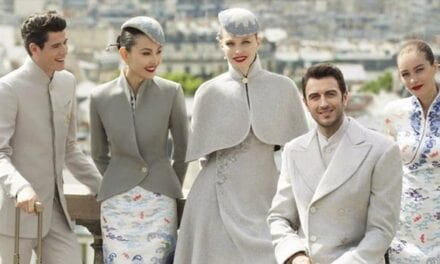 Hainan Airline's New Uniforms | POPSUGAR Fashion Middle East