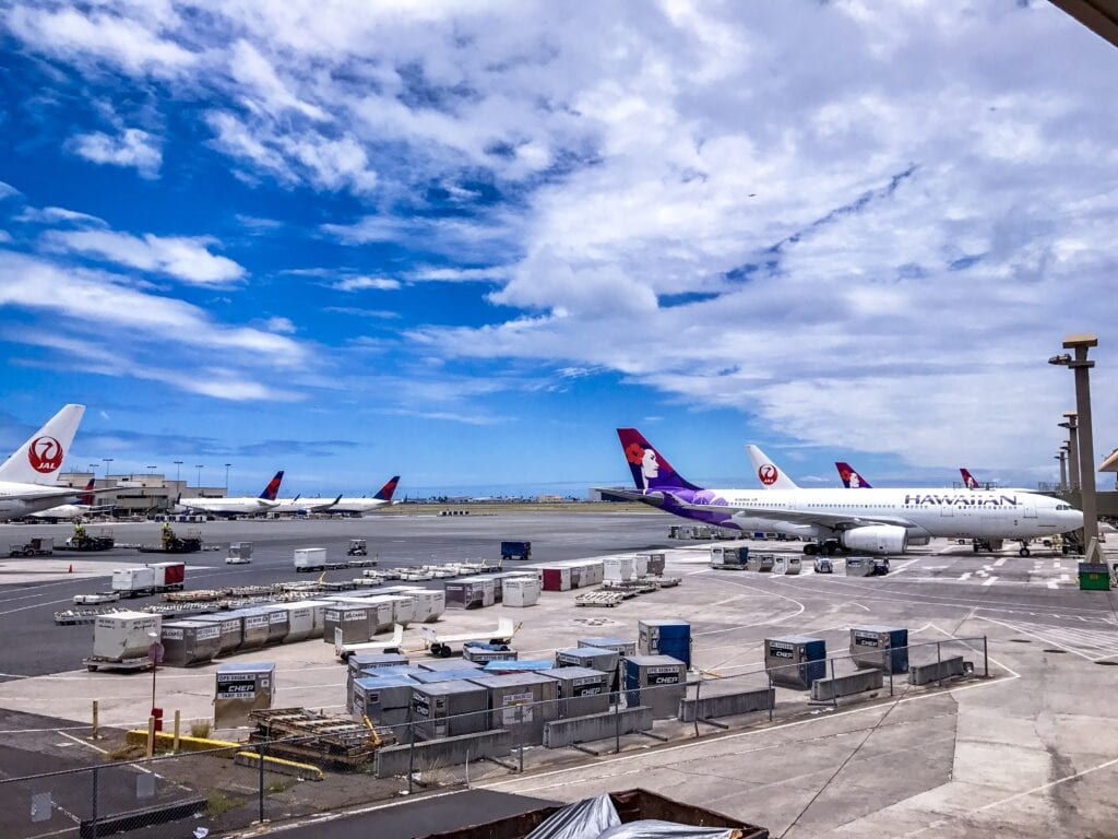daniel inouye international airport hawaiian airlines