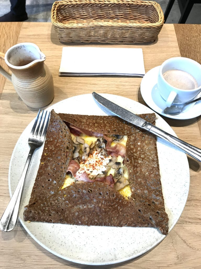 crepe from breizh cafe