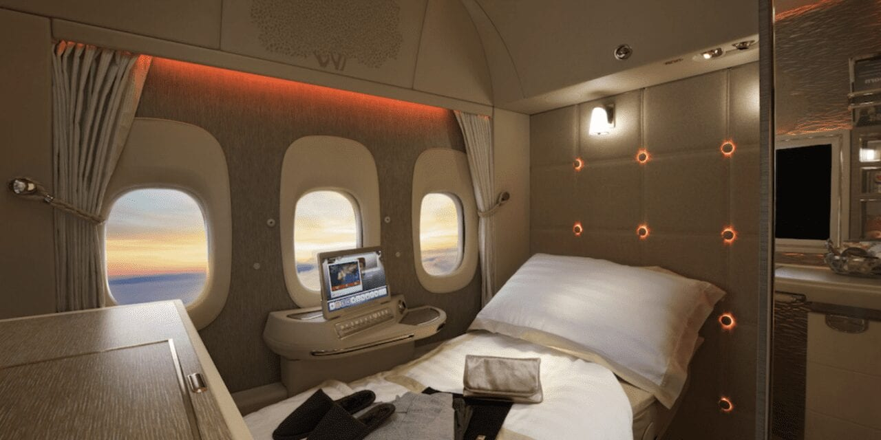 Let's Talk About Emirates INSANE New First-Class Cabin For A Minute