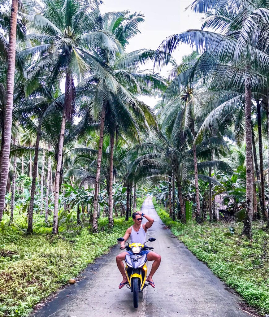 scooter ride siargao island philippines