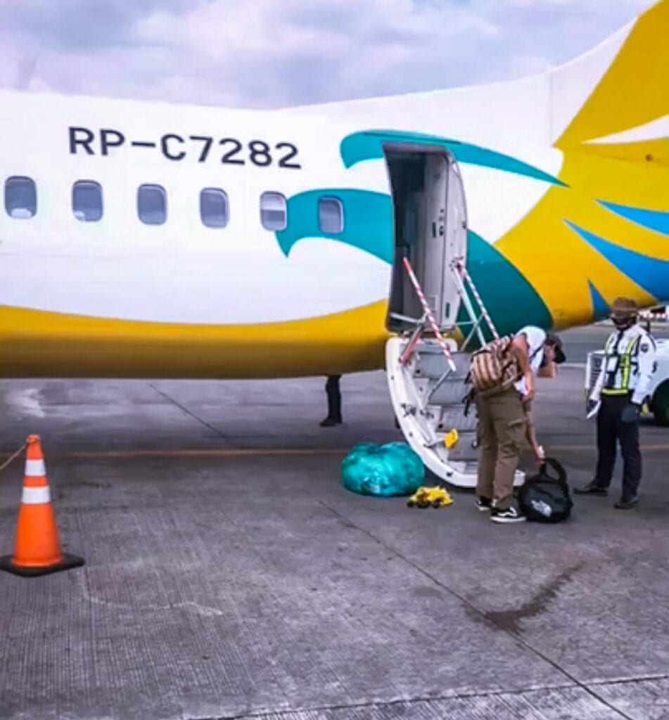 cebgo cebu pacific flight from manila to siargao