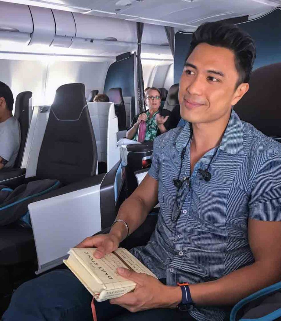 onboard hawaiian airlines business class cabin airbus a330