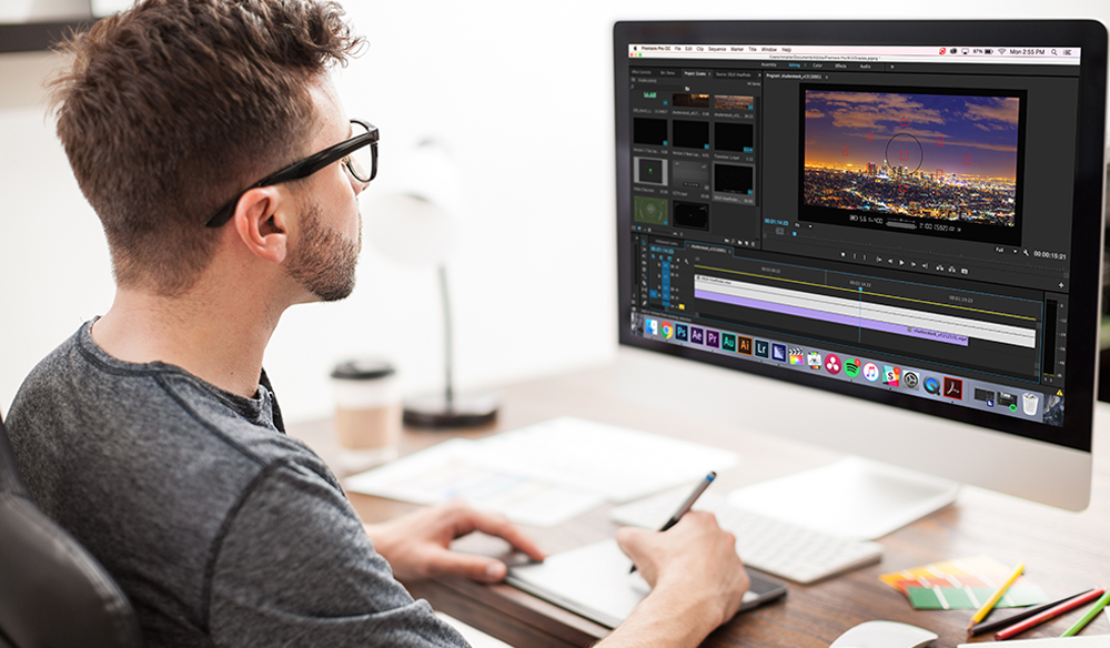 video editor work from home online job
