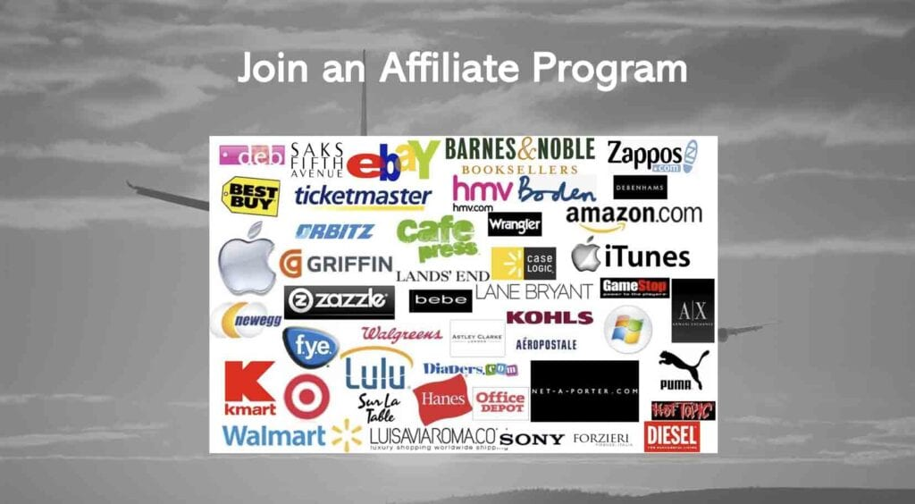 Join an affiliate program for affiliate marketing on Instagram