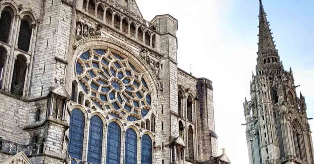 Chartres is best day trips from Paris