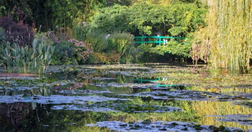 Giverny is best day trips from Paris