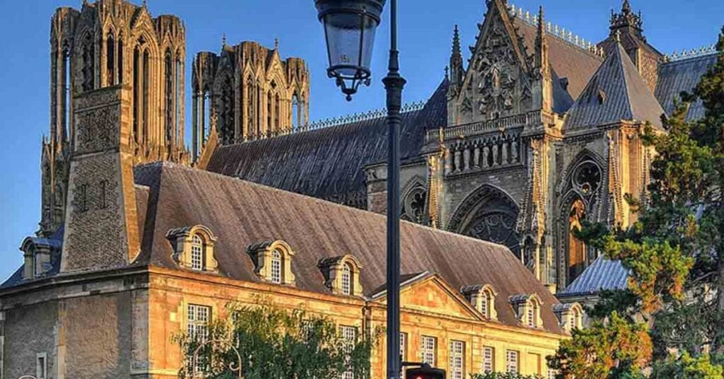 Reims is best day trips from Paris