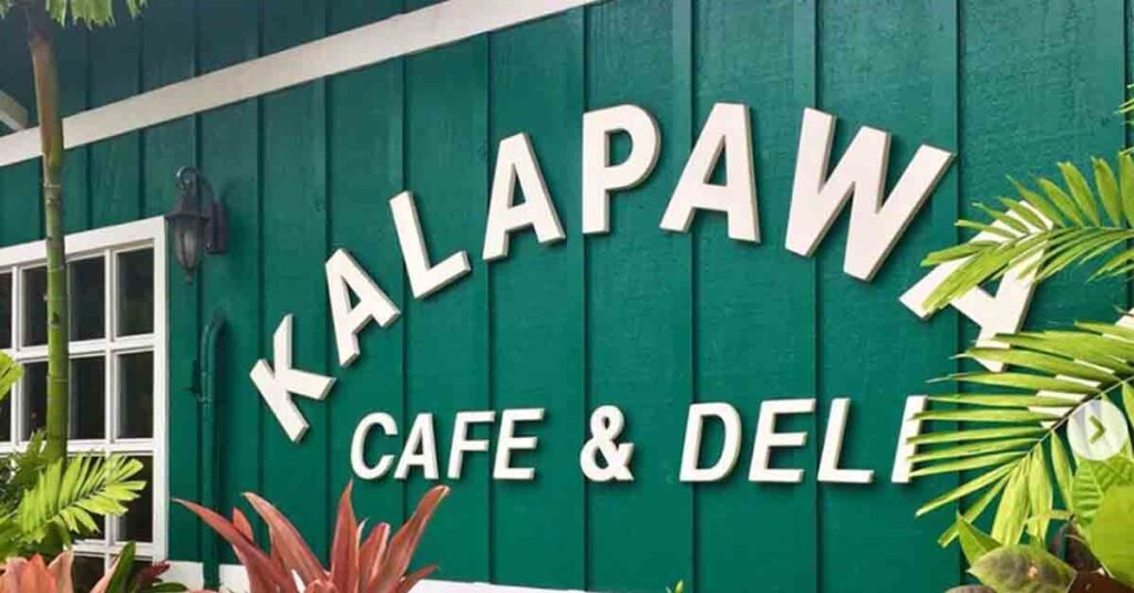 Where to stay in Oahu Kalapawai cafe & deli