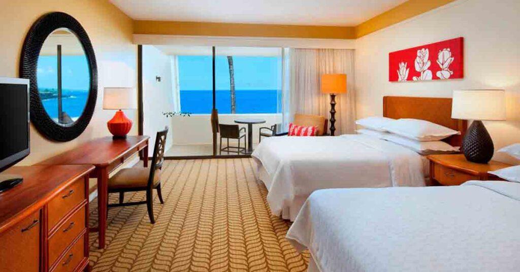 Where to stay in Oahu Sheraton Kona Resort