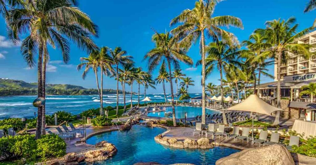 Where to stay in Oahu turtle bay resort
