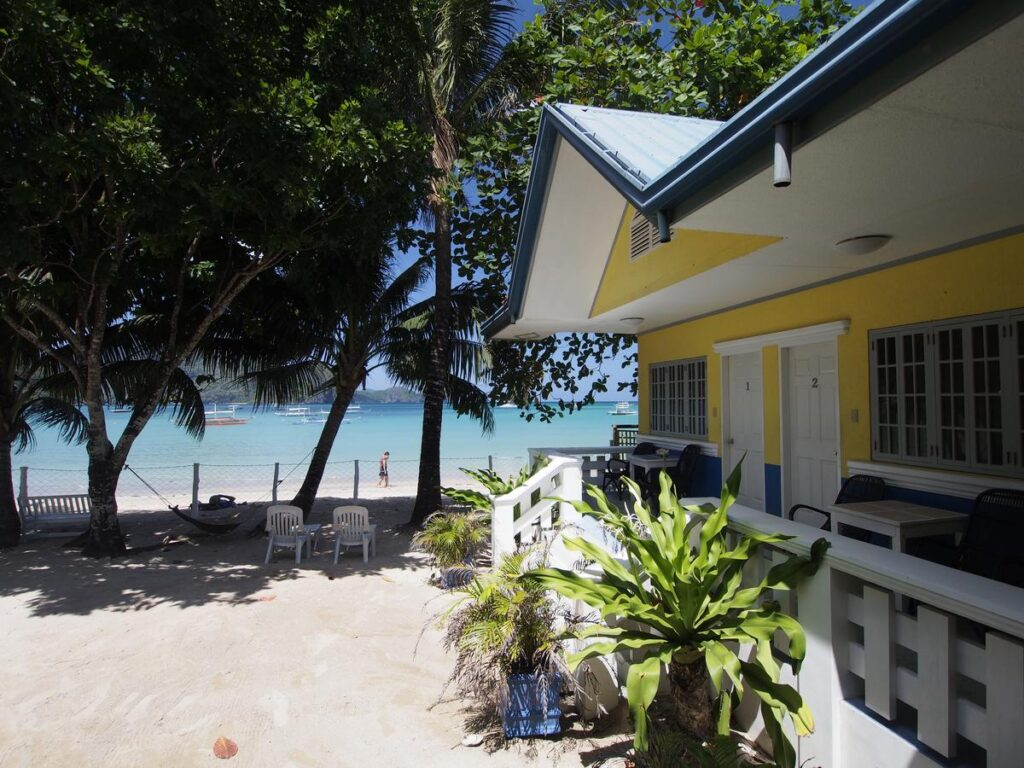 where to stay in el nido marygold beachfront inn