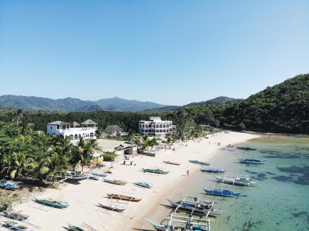 where to stay in el nido mg chateau hotel